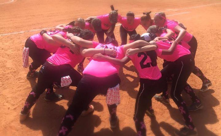 16U Wildcats huddle