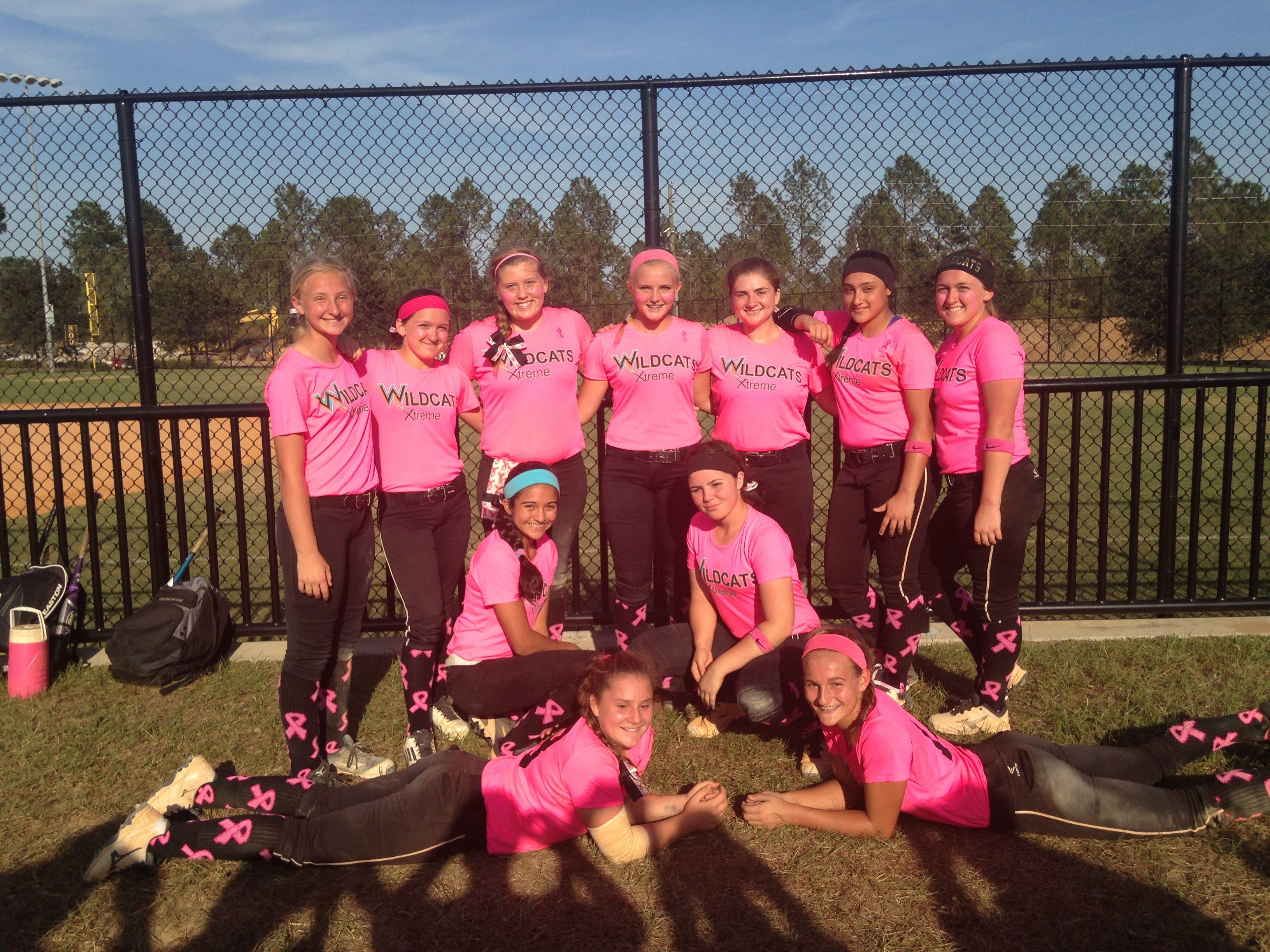 pink 14U wildcats