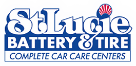 St lucie tire and battery logo