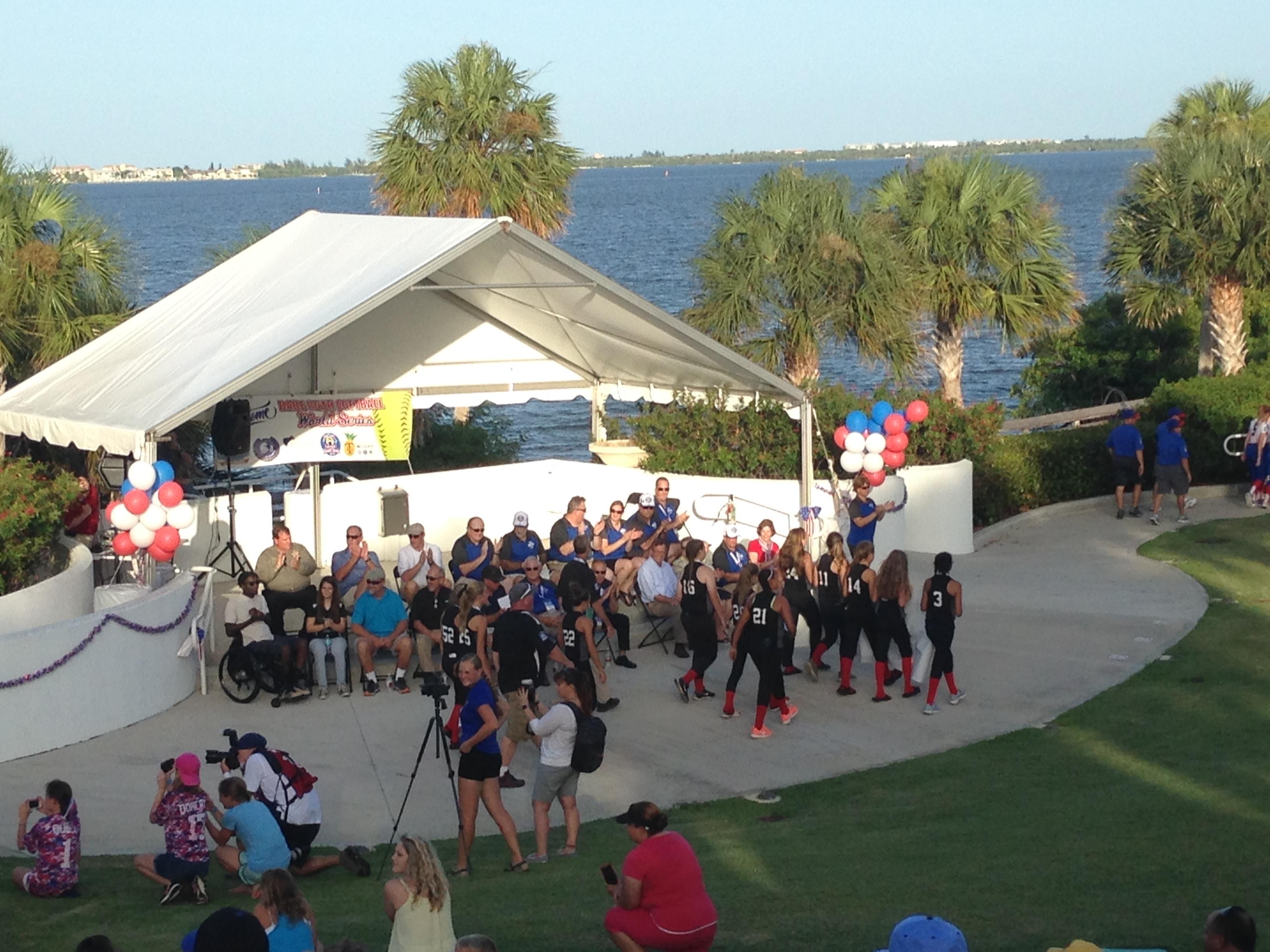 opening ceremonies top view