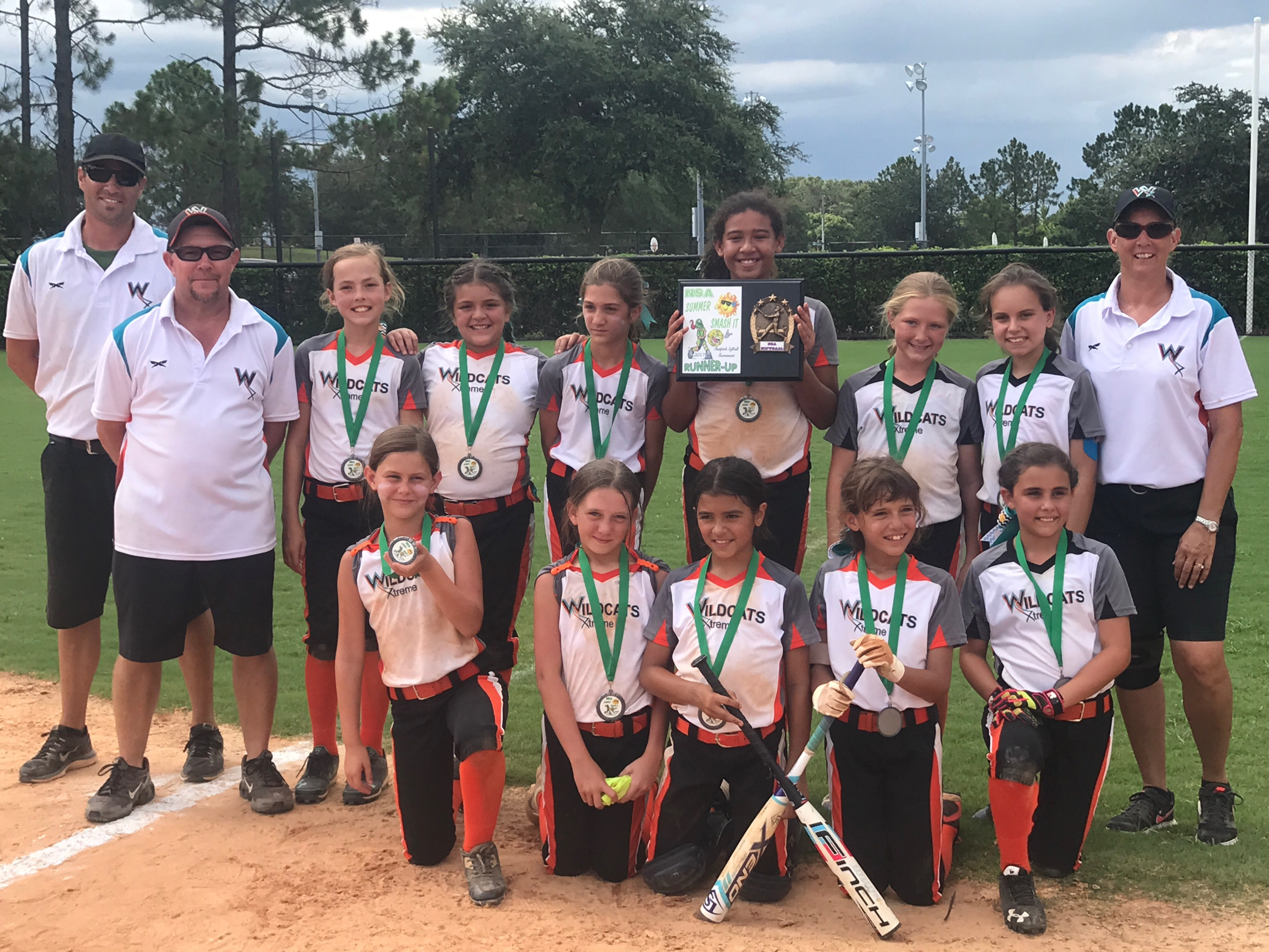 10U Wildcats 2nd place NSA win